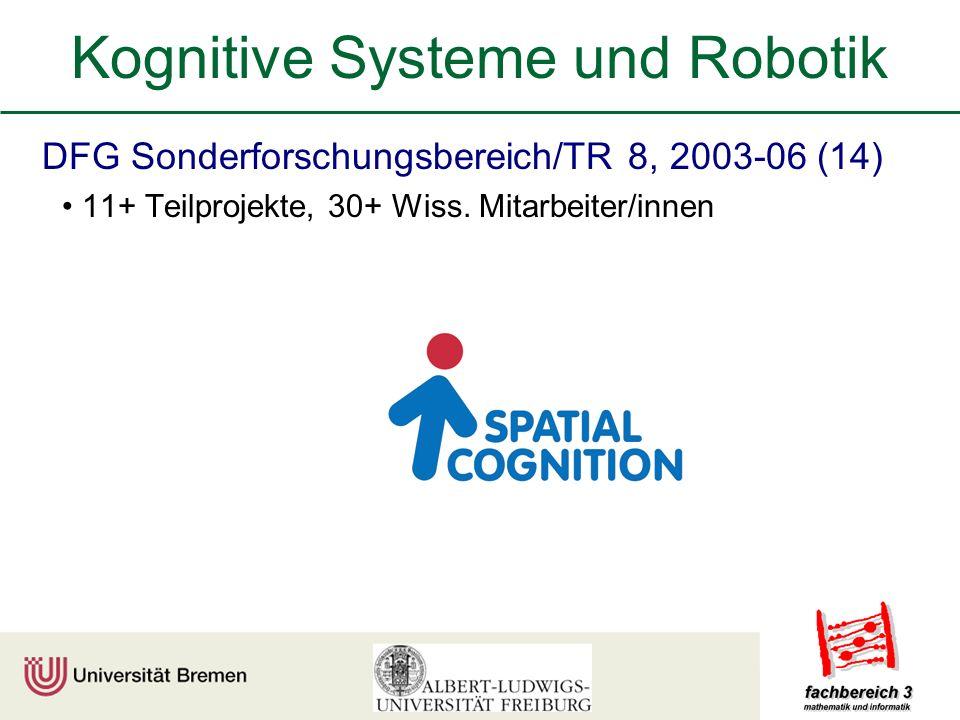 Kognitive Systeme und Robotik