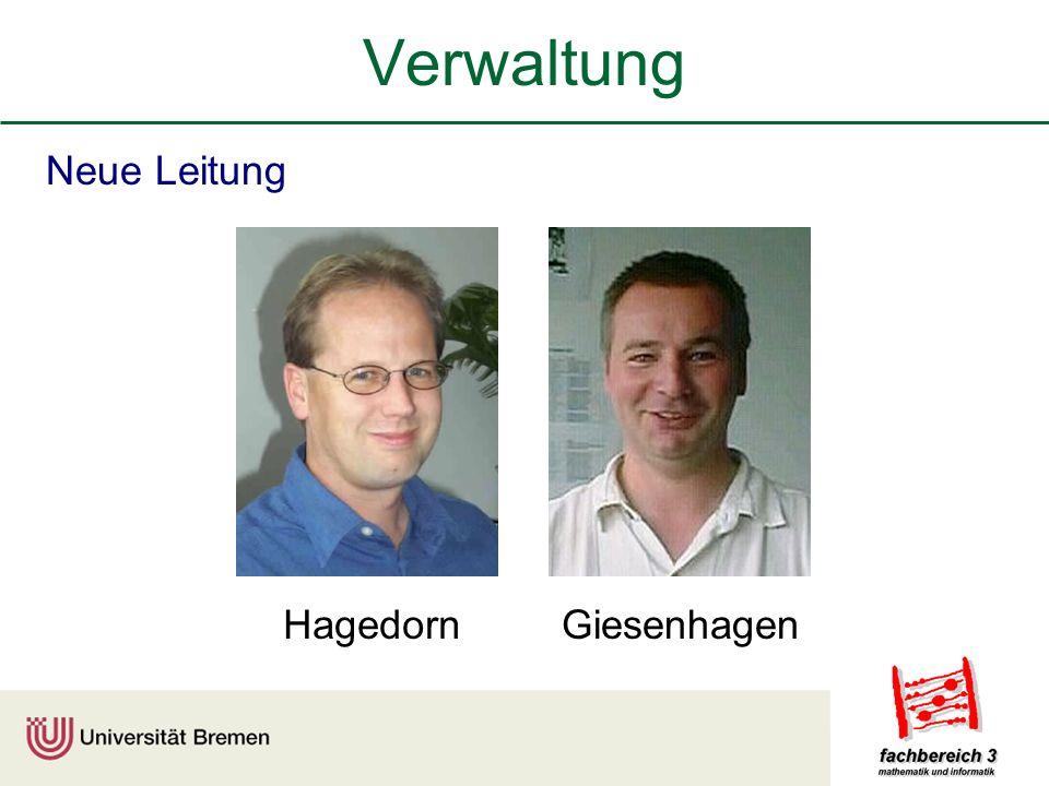 Verwaltung Neue Leitung Hagedorn Giesenhagen