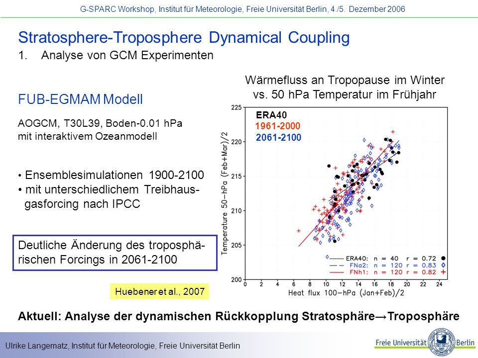 Stratosphere-Troposphere Dynamical Coupling
