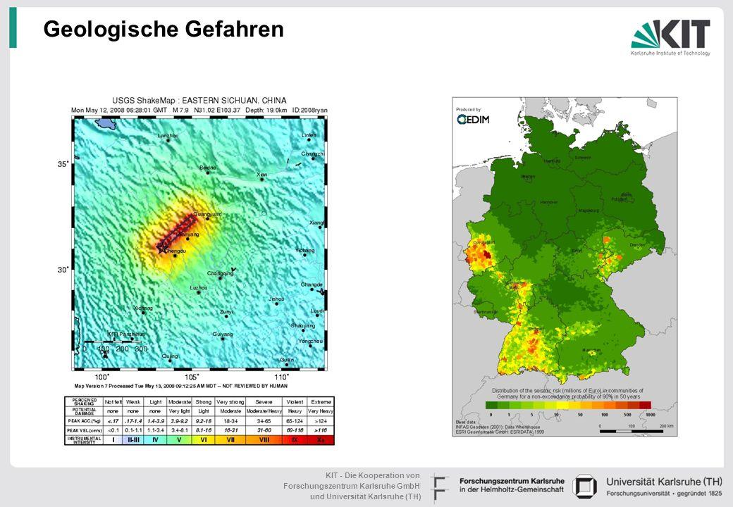 Geologische Gefahren