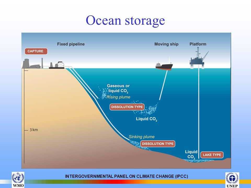 Ocean storage