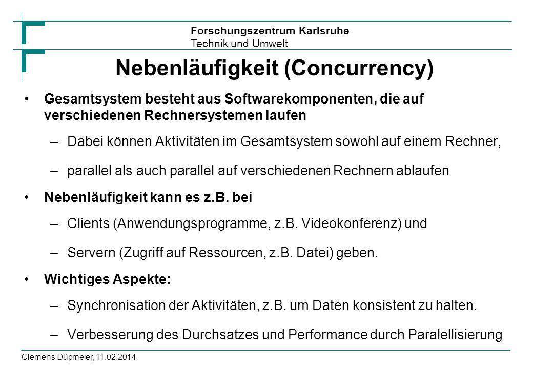 Nebenläufigkeit (Concurrency)