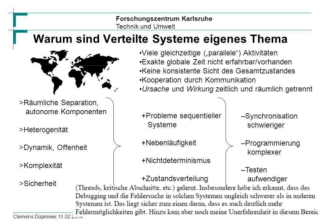 Warum sind Verteilte Systeme eigenes Thema