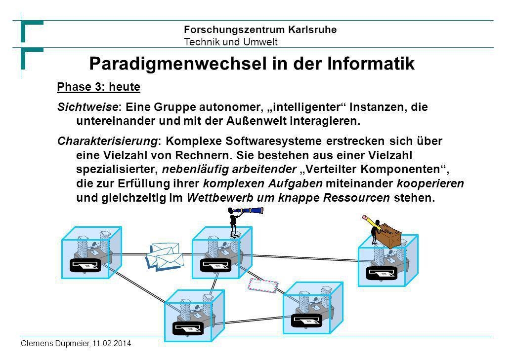 Paradigmenwechsel in der Informatik