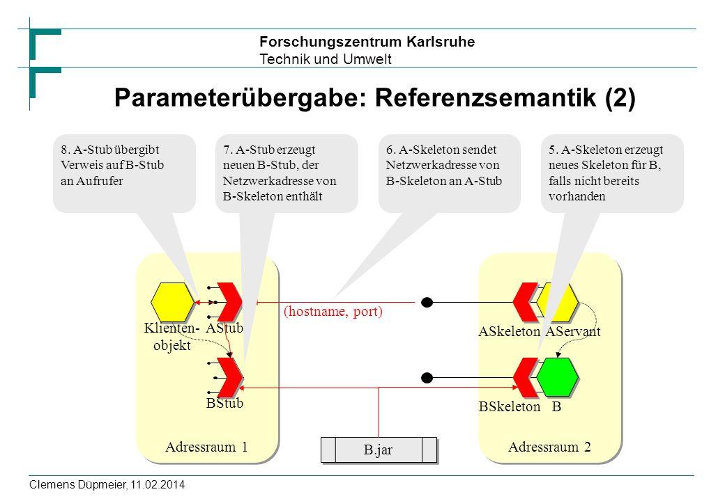 Parameterübergabe: Referenzsemantik (2)