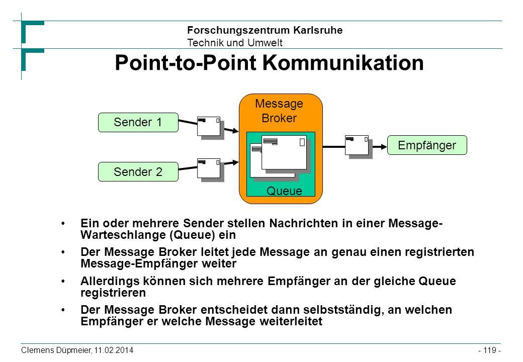 Point-to-Point Kommunikation