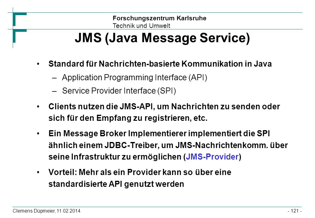JMS (Java Message Service)