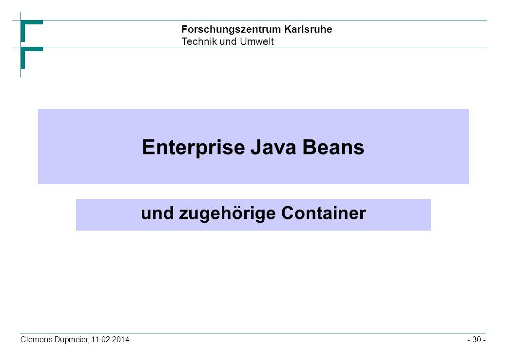 und zugehörige Container