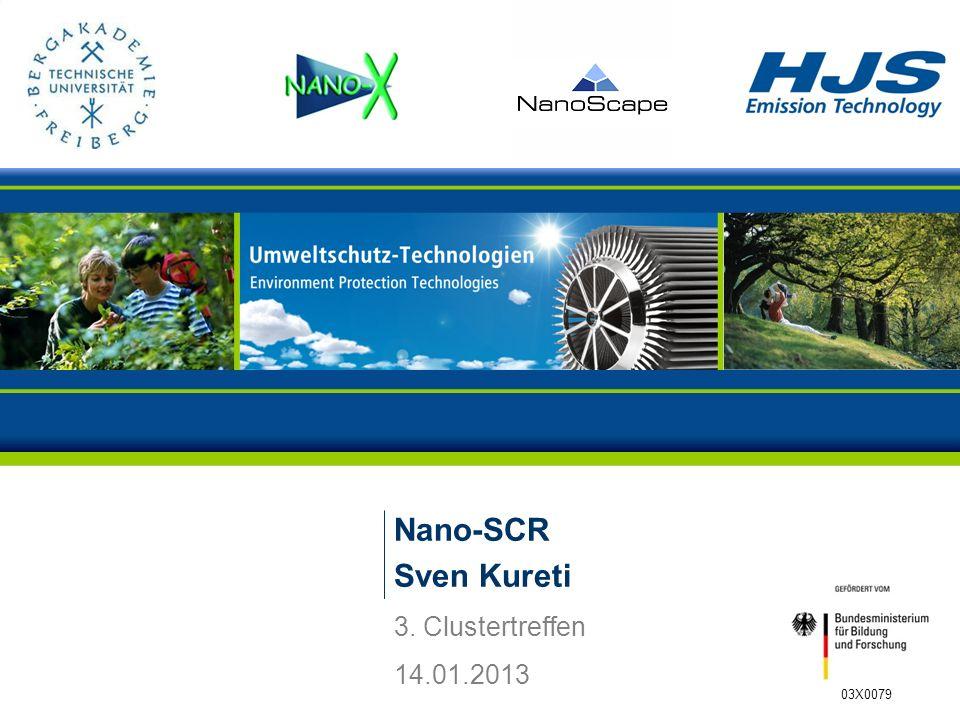 Nano-SCR Sven Kureti 3. Clustertreffen 14.01.2013 03X0079