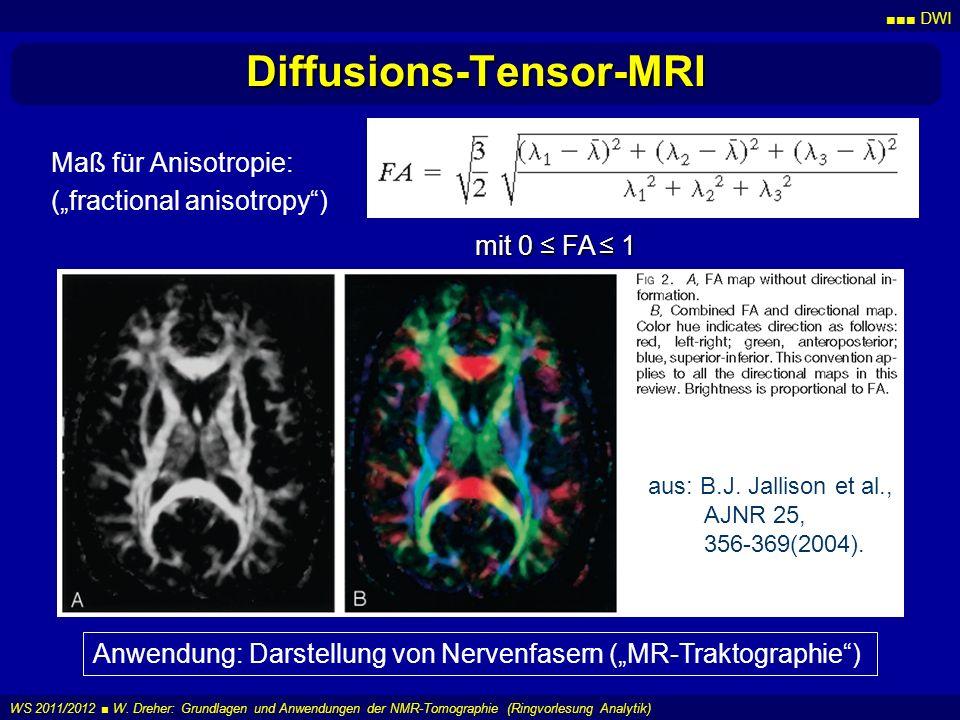Diffusions-Tensor-MRI