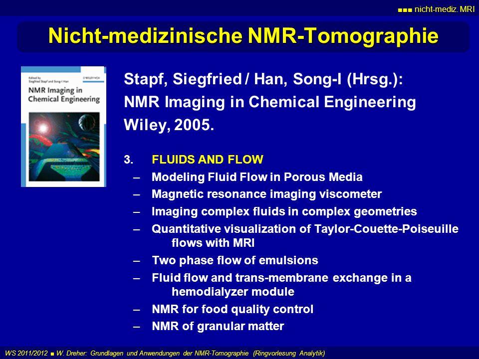 Nicht-medizinische NMR-Tomographie