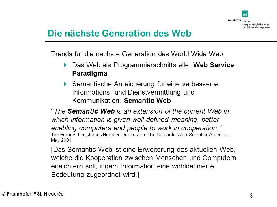 Die nächste Generation des Web
