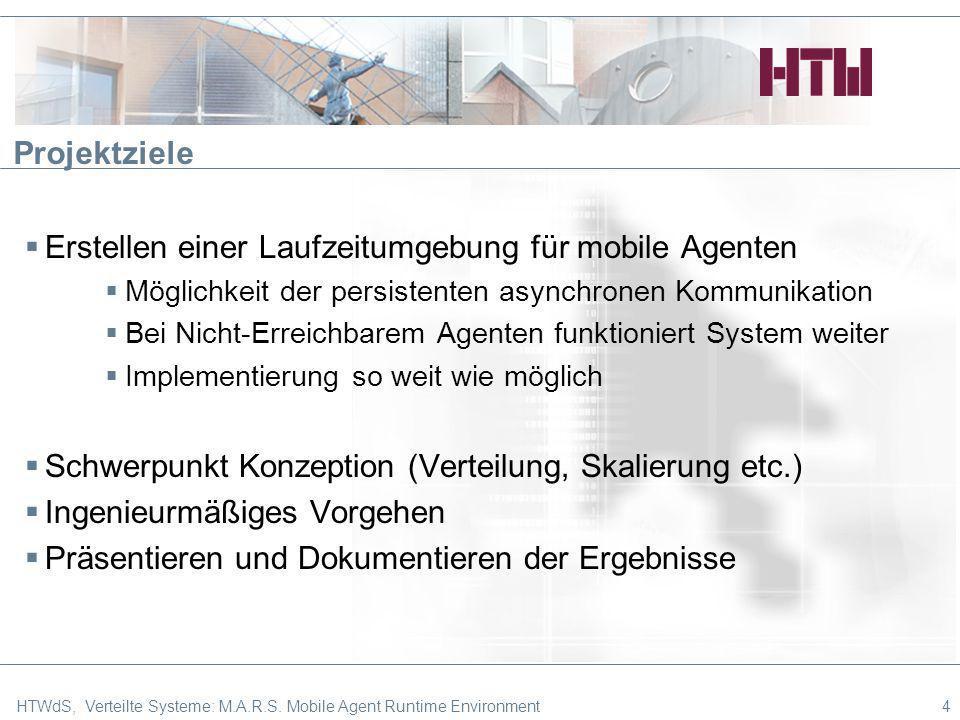 Erstellen einer Laufzeitumgebung für mobile Agenten