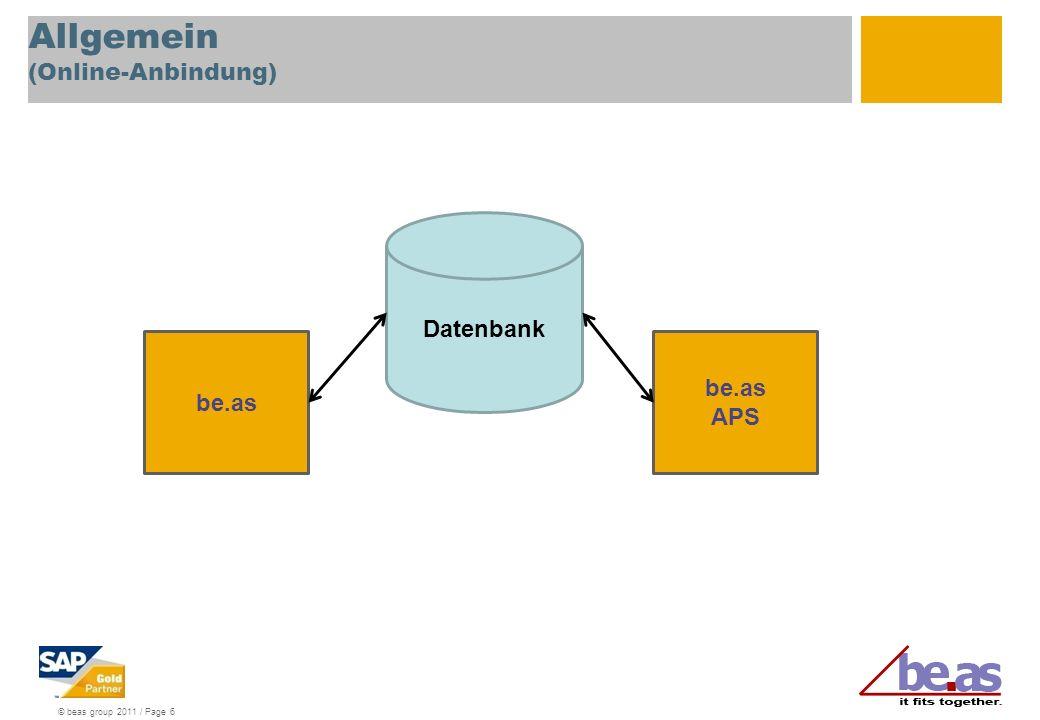 Allgemein (Online-Anbindung)