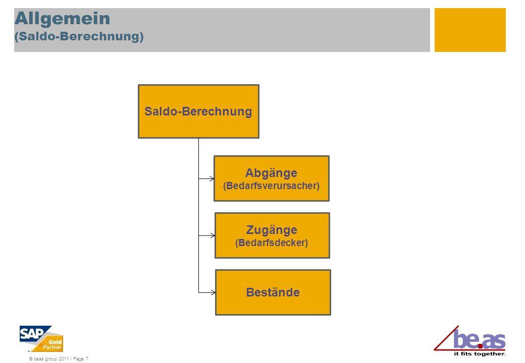 Allgemein (Saldo-Berechnung)