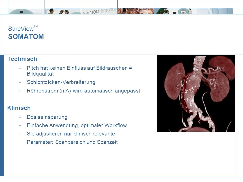 SureViewTM SOMATOM Technisch Klinisch