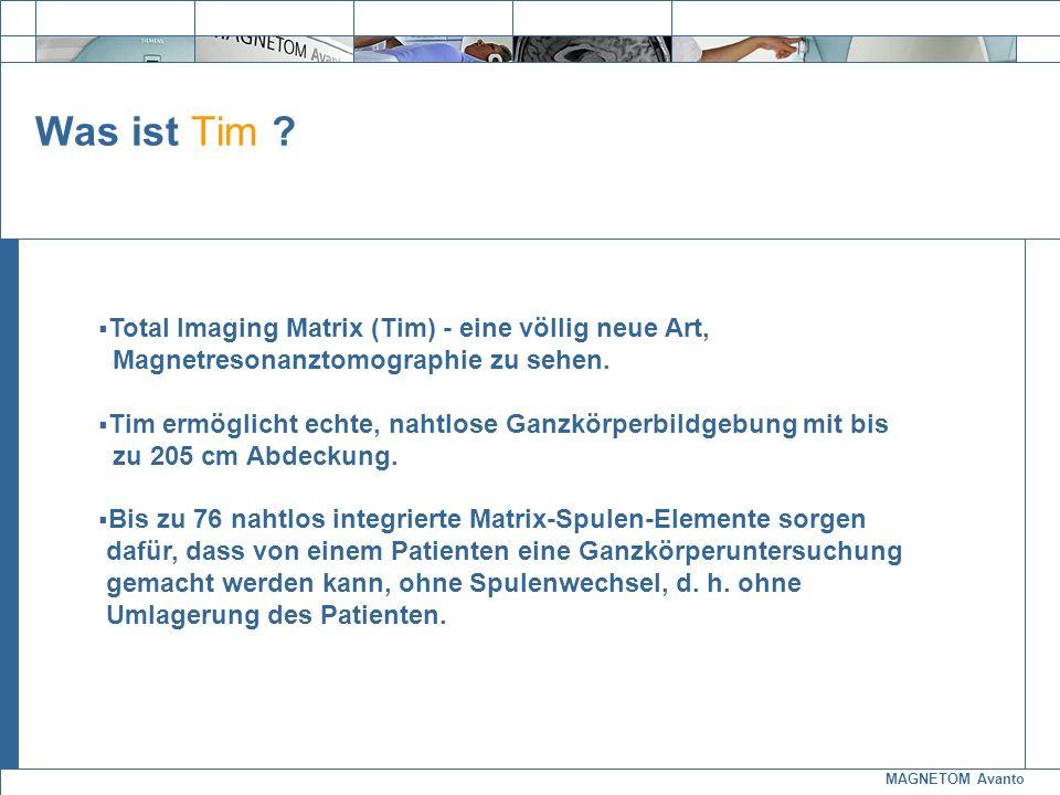 Was ist Tim Total Imaging Matrix (Tim) - eine völlig neue Art,