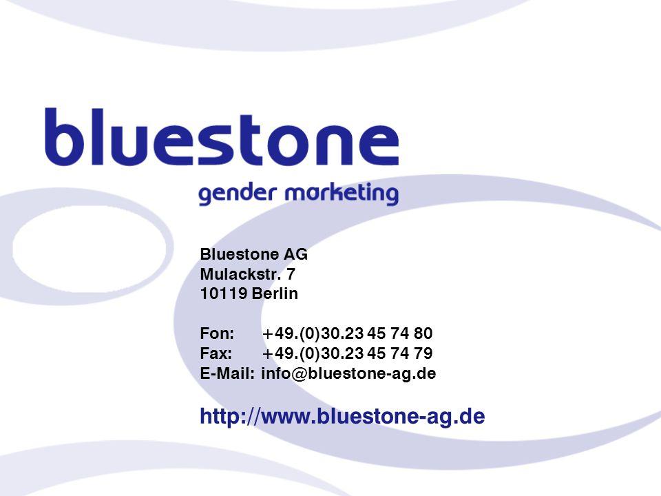 Bluestone AG Mulackstr. 7 10119 Berlin Fon:. +49. (0)30