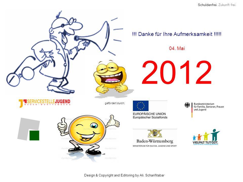 2012 !!! Danke für Ihre Aufmerksamkeit !!!!! 04. Mai
