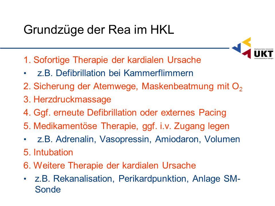 Grundzüge der Rea im HKL