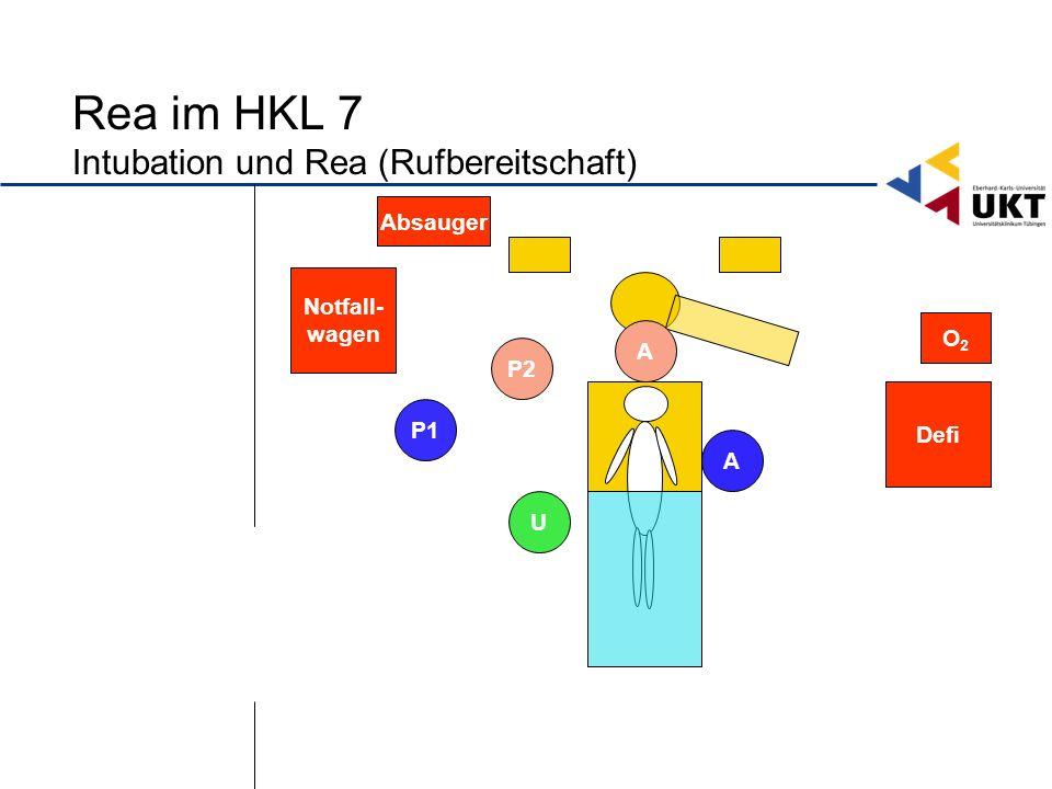 Rea im HKL 7 Intubation und Rea (Rufbereitschaft)