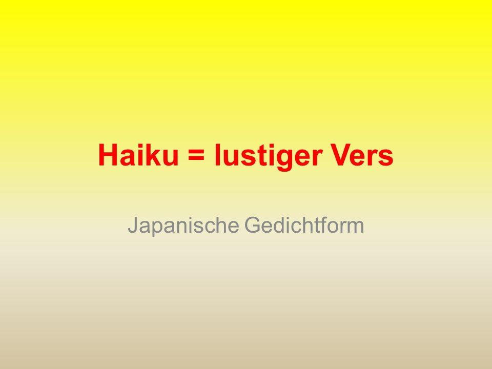Japanische Gedichtform
