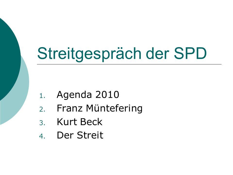 Streitgespräch der SPD