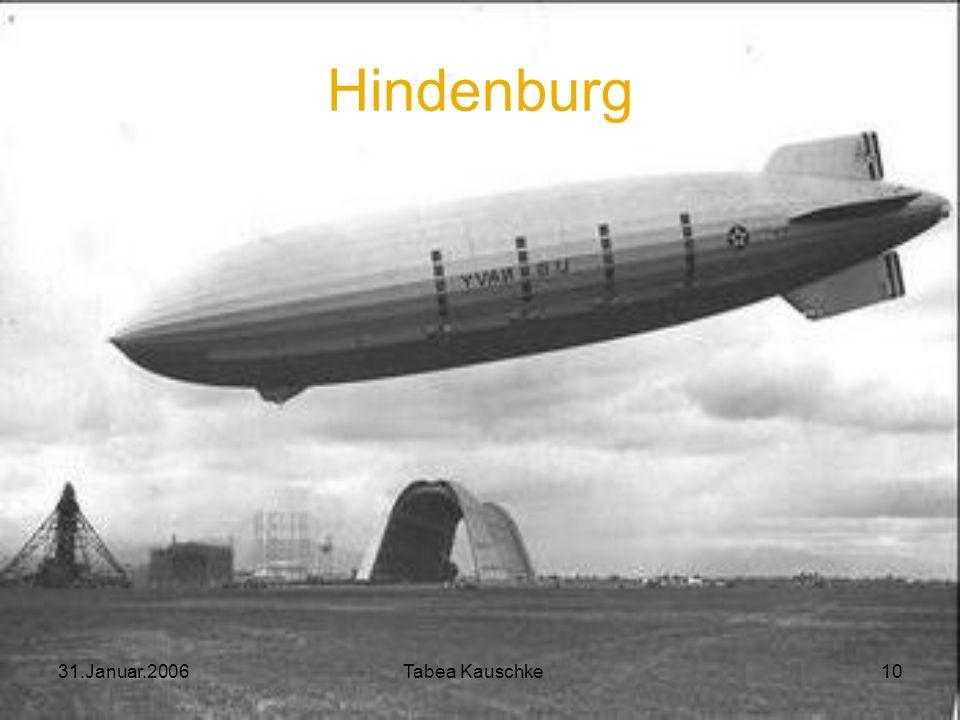 Hindenburg 31.Januar.2006 Tabea Kauschke