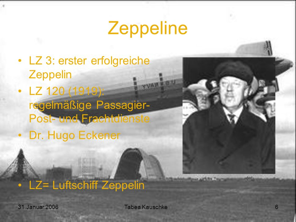 Zeppeline LZ 3: erster erfolgreiche Zeppelin