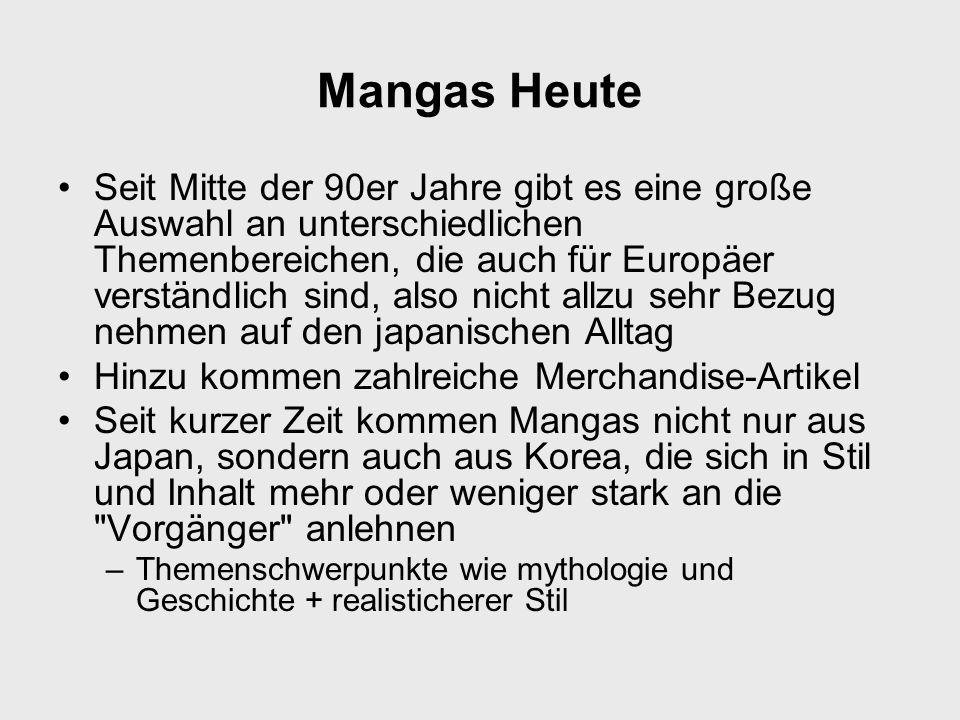 Mangas Heute