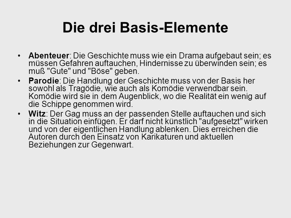Die drei Basis-Elemente