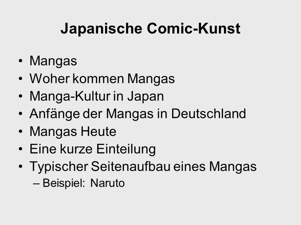 Japanische Comic-Kunst
