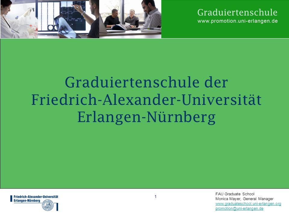 Graduiertenschule der Friedrich-Alexander-Universität Erlangen-Nürnberg