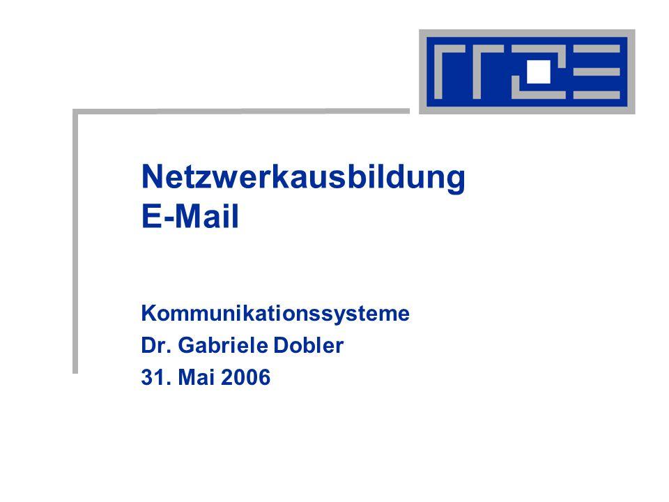 Netzwerkausbildung E-Mail