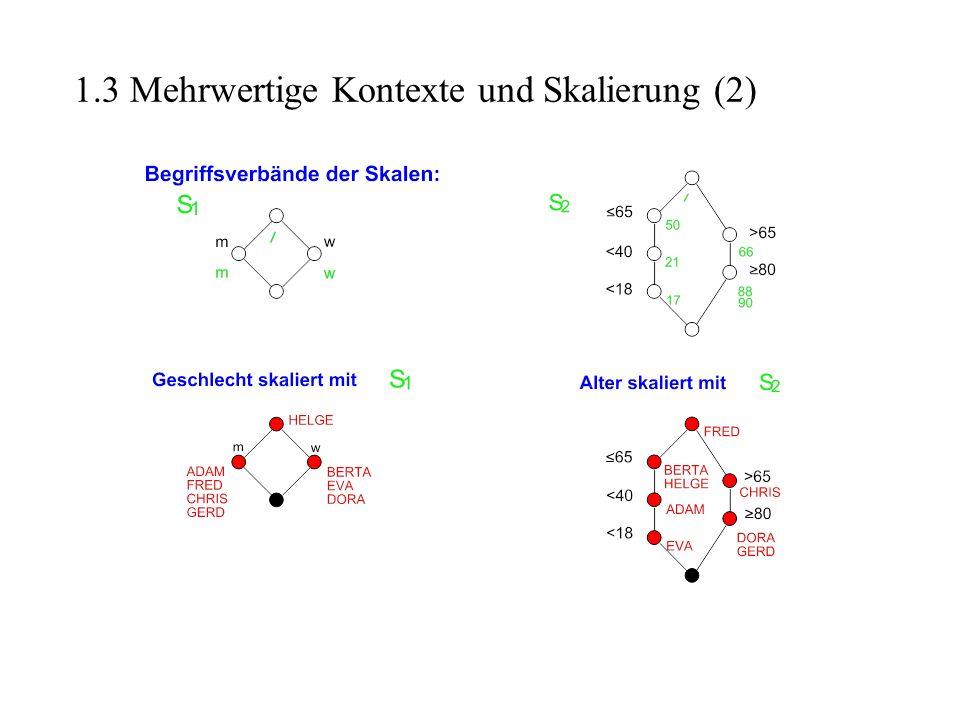 1.3 Mehrwertige Kontexte und Skalierung (2)