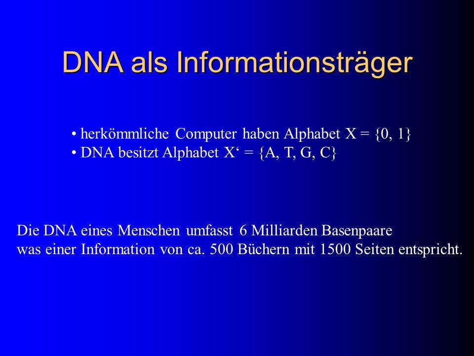 DNA als Informationsträger