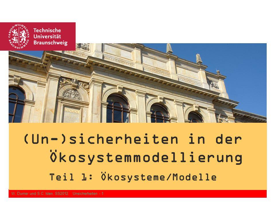 (Un-)sicherheiten in der Ökosystemmodellierung