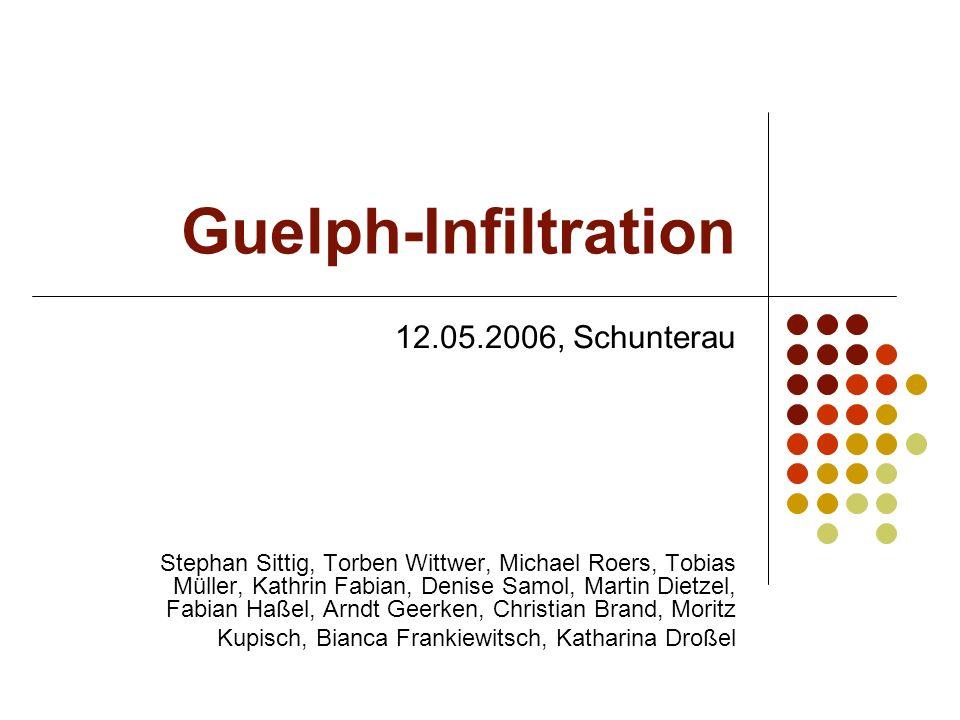 Guelph-Infiltration 12.05.2006, Schunterau