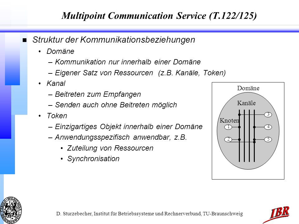 Multipoint Communication Service (T.122/125)