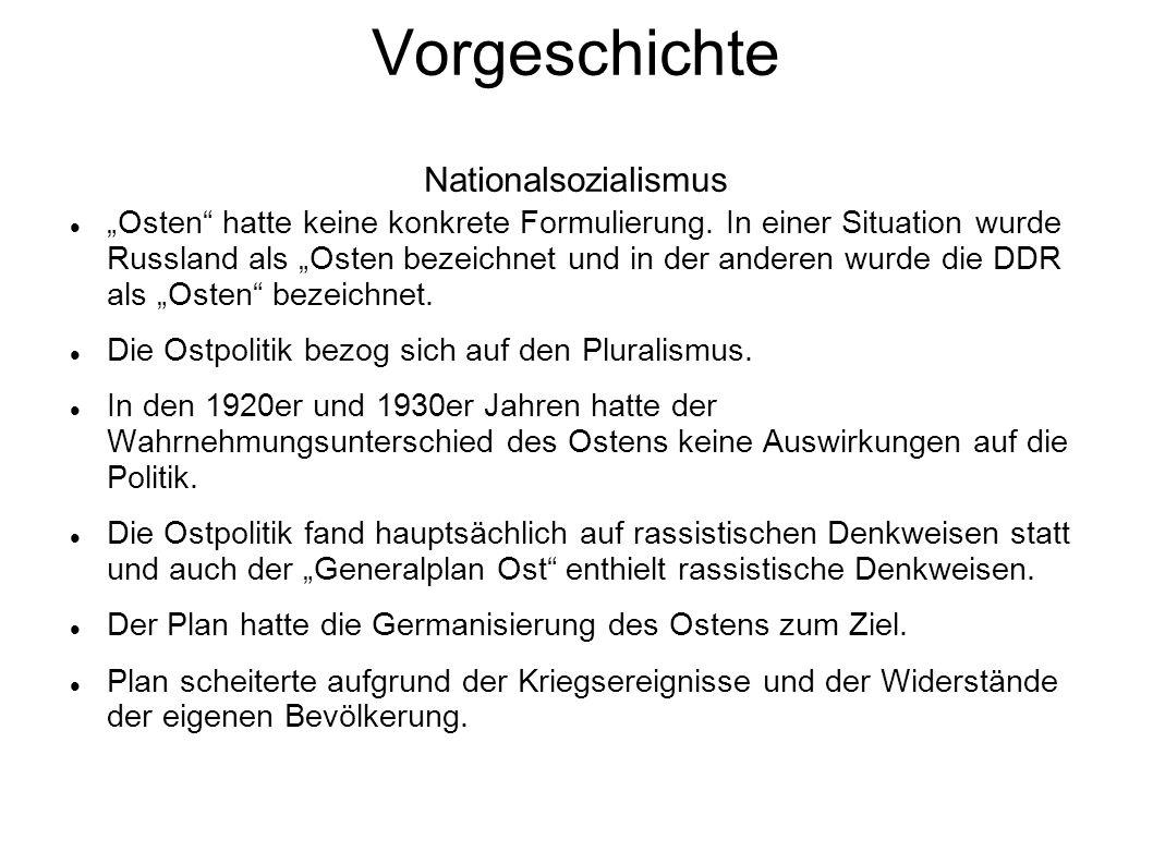Vorgeschichte Nationalsozialismus