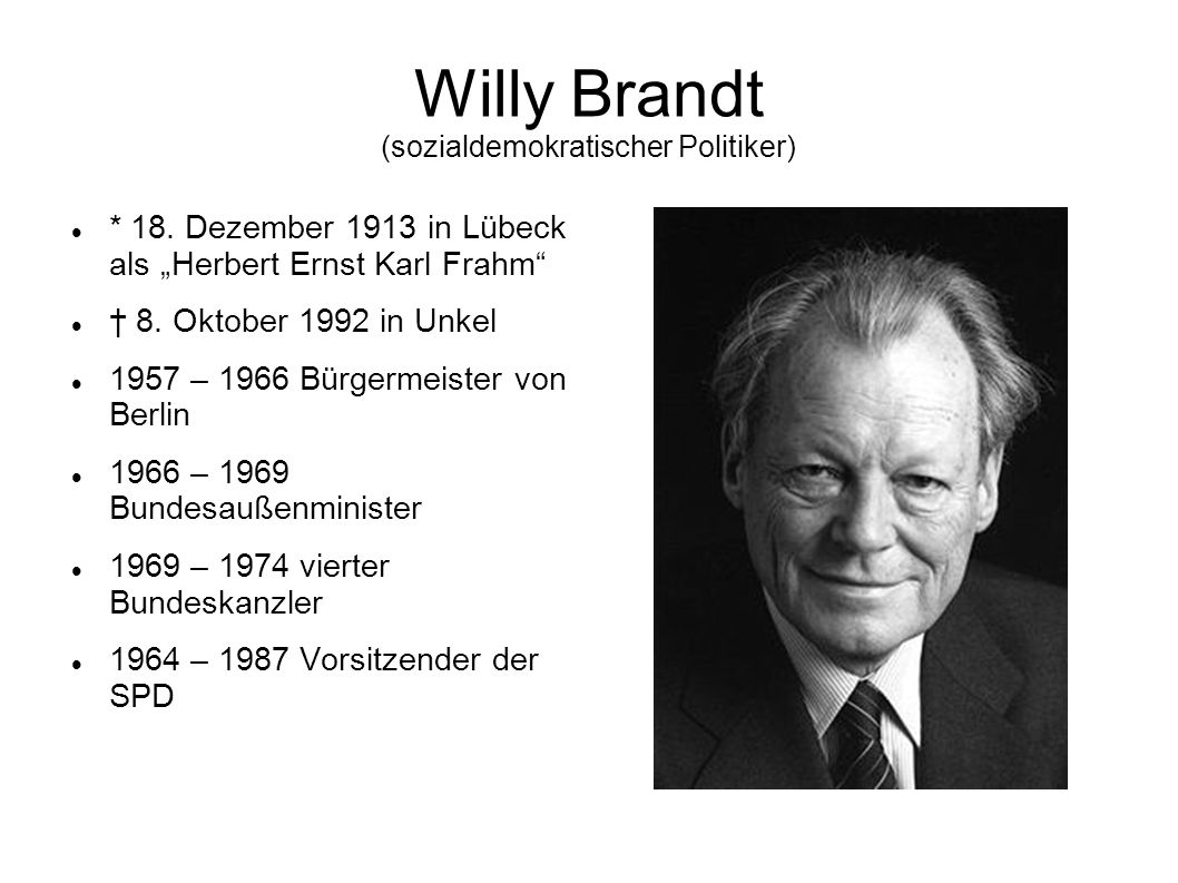 Willy Brandt (sozialdemokratischer Politiker)