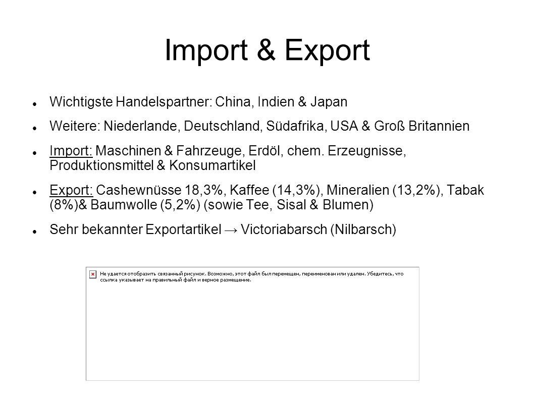 Import & Export Wichtigste Handelspartner: China, Indien & Japan