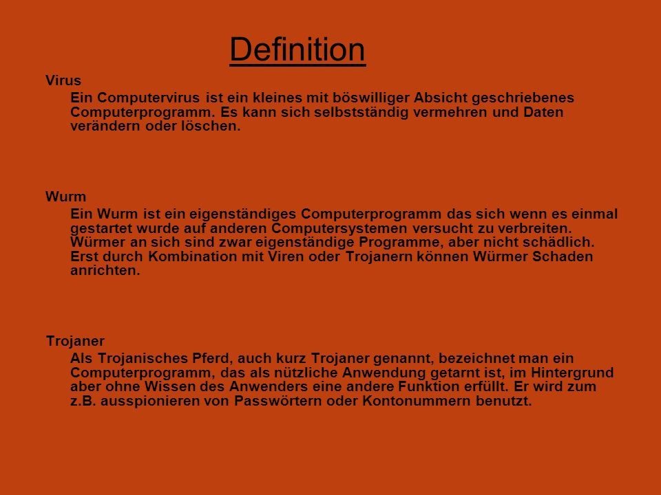 Definition Virus.