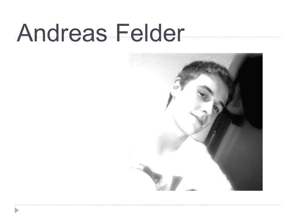 Andreas Felder 1