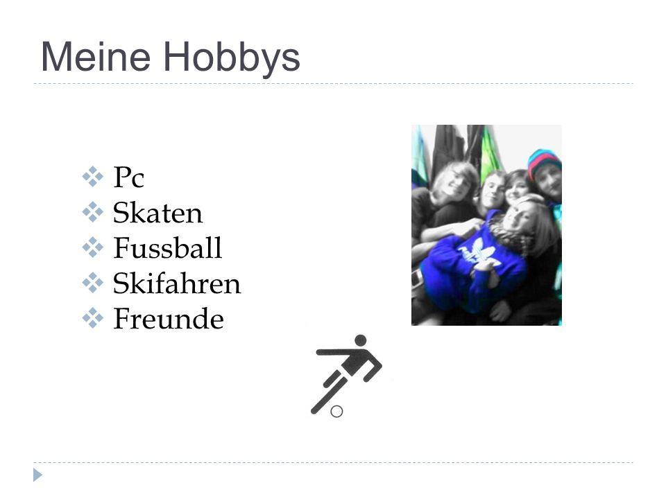 Meine Hobbys Pc Skaten Fussball Skifahren Freunde