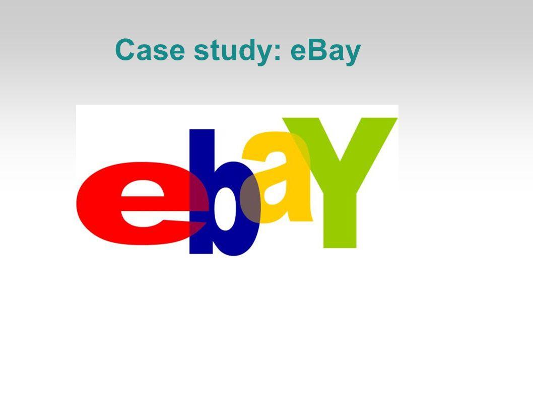 Case study: eBay 1