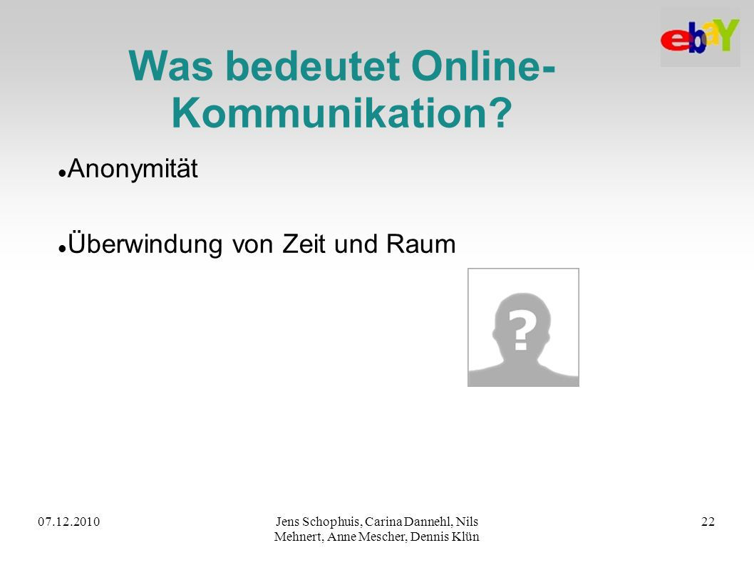 Was bedeutet Online-Kommunikation