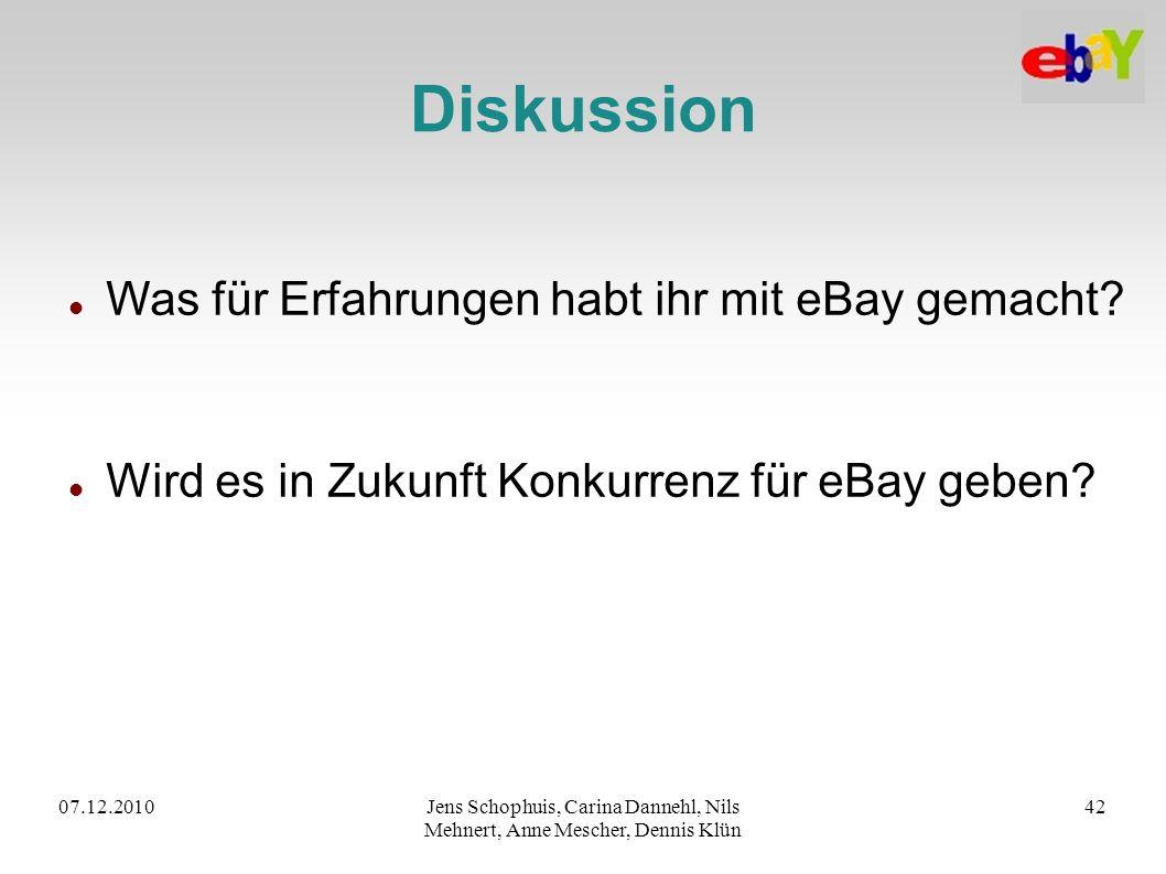 Diskussion Was für Erfahrungen habt ihr mit eBay gemacht