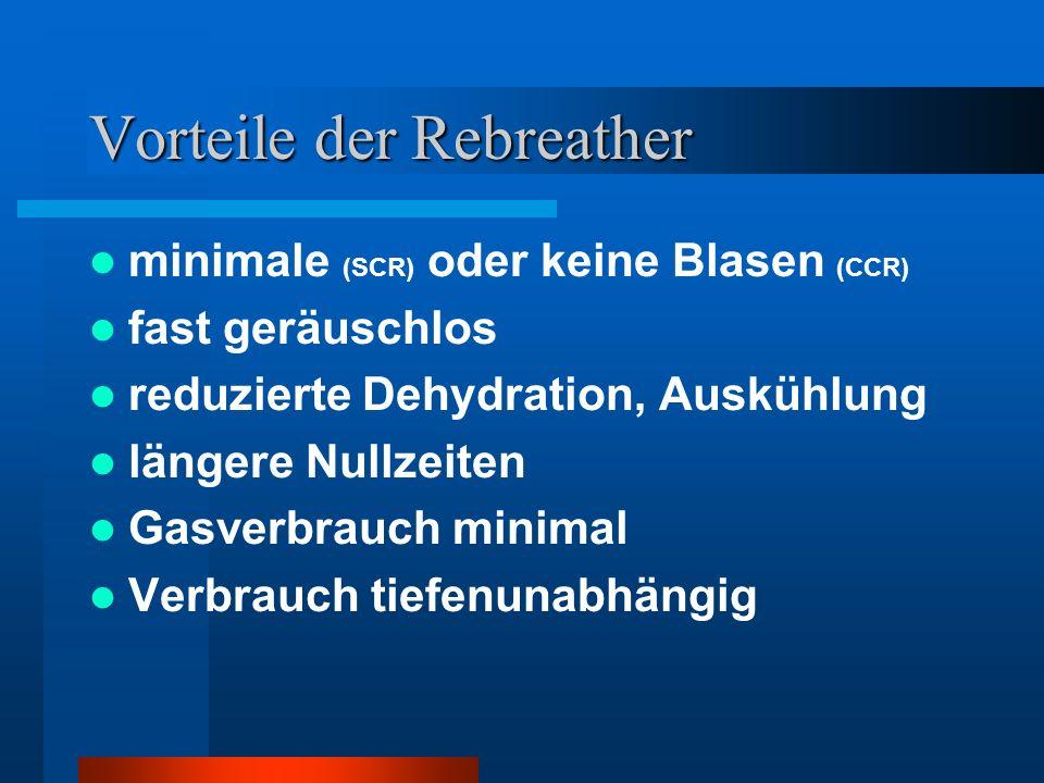 Vorteile der Rebreather