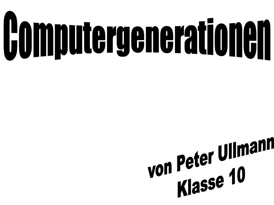 Computergenerationen